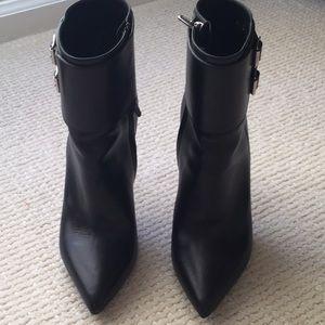 Saint Laurent black booties